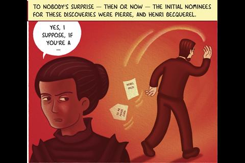 IYPT Comic – Radium part 2 – Frame 5